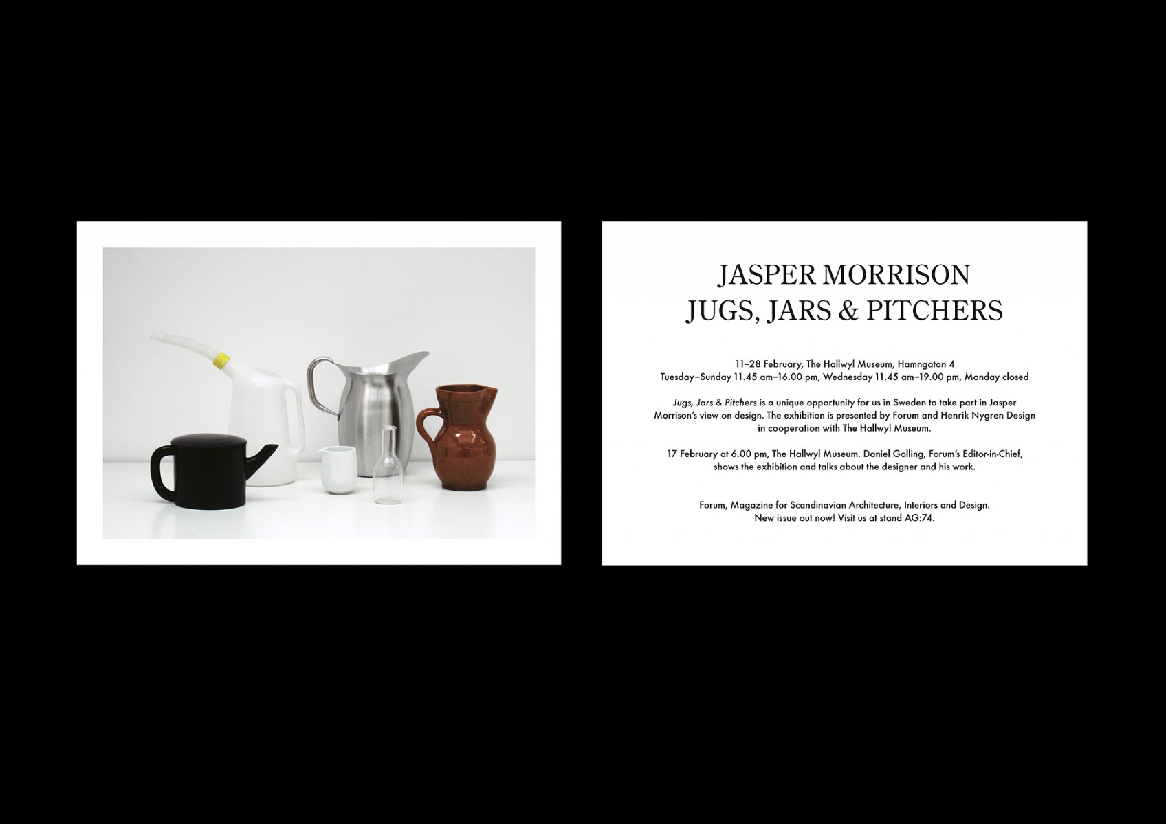 Henrik NygrenDesign  Jasper Morrison - Scandinavian museums in us