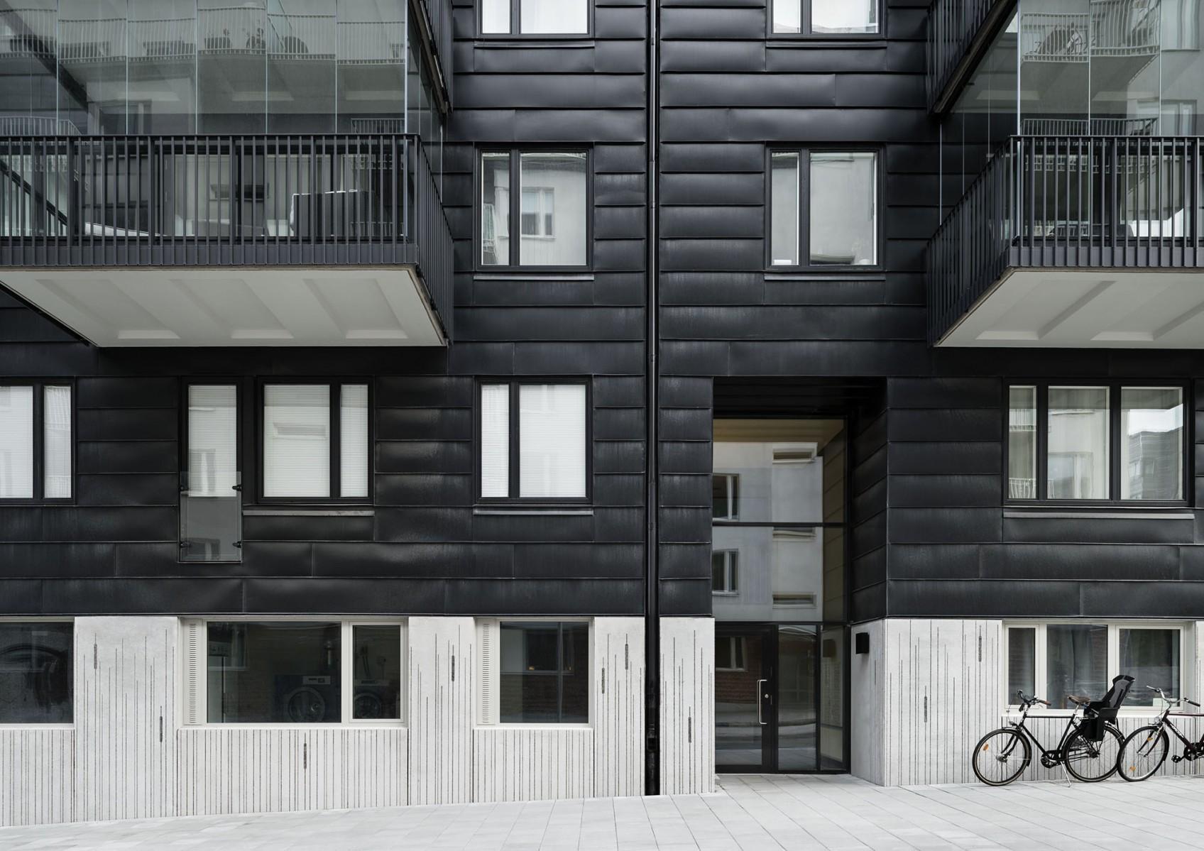 decoration facade elegant faade dcor en pierre with decoration facade decoration facade maison. Black Bedroom Furniture Sets. Home Design Ideas
